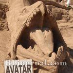 Фестиваль песчаных скульптур. Анталия, 2010 год