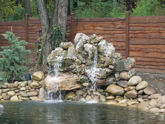 Гармония воды и камня