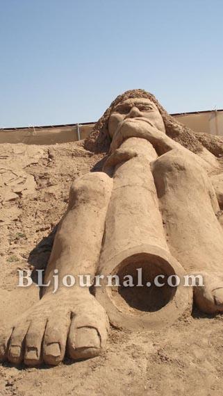 Фестиваль песчаных скульптур анталия